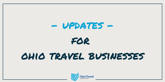 Weekly Updates for Ohio's Travel Economy, Aug. 31 - Sept. 4