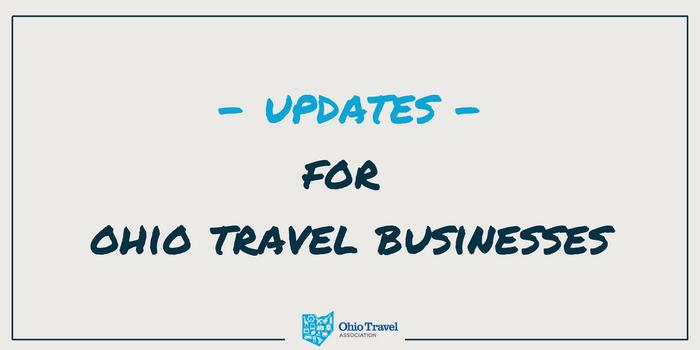 Updates 9/10/21: Ohio's Travel Industry and the Coronavirus (COVID-19)